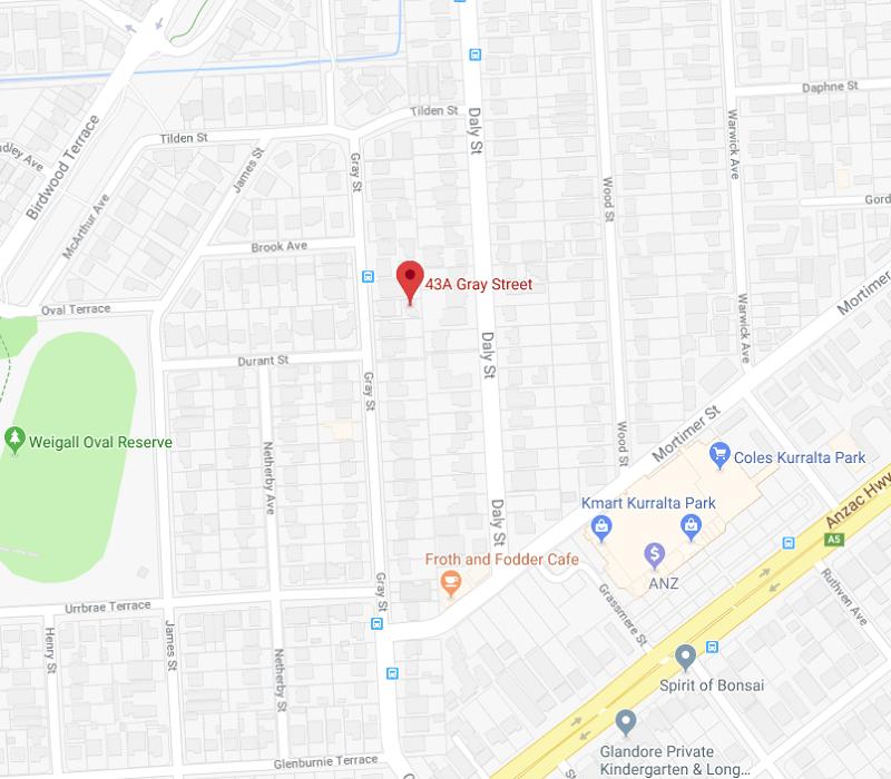 Glenn property map